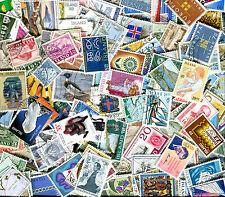 Iceland Lot of 350 Different Cancelled  Stamps