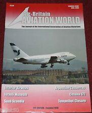 Air Britain Aviation World 2009 Summer Interior Airways,Scandia,Cessna 172
