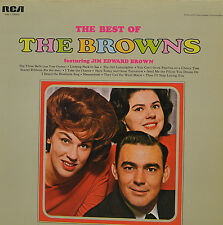 "THE BEST OF THE BROWNS FEAT. JIM EDWARD BROWN RCA ANL 1-1083 12"" LP ( R867)"