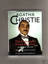 AGATHA CHRISTIE-THE KIDNAPPED PRIME MINISTER AND OTHERS- AUDIO BOOK  CASSETTE