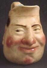 Authentic Antique Sarreguemines Toby Face Jug 3181-Sideways Glance