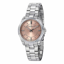 Stuhrling Original Women's 408L.12114 Marine Stainless Steel Swiss Quartz Watch