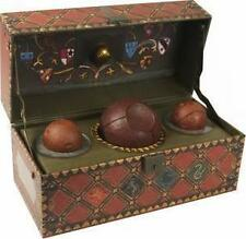 Harry Potter: Collectible Quidditch genuine Set, in Quidditch trunk, Great Gift!