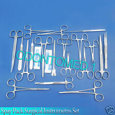 50 PCS. SPAY PACK KIT Surgical Veterinary Instrument OR