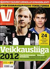2012 Finland Football - IS Veikkaaja - Finnish Season Preview Magazine
