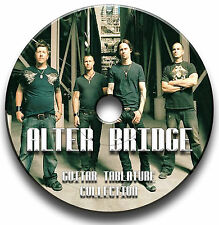 ALTER BRIDGE ROCK GUITAR TABS TABLATURE SONG BOOK SOFTWARE CD
