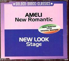 AMELI (NEW ROMANTIC) NEW LOOK (STAGE) -  ITALO DISCO CD MAXI |121]