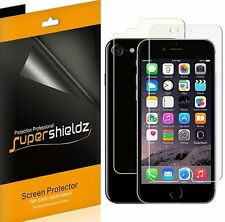Supershieldz 3 Front & 3 Back Anti Glare Matte Screen Protector For iPhone 7