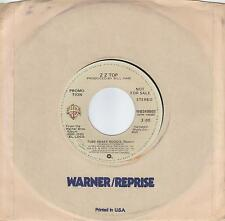 ZZ TOP  Tube Snake Boogie remix  rare promo 45 from 1981