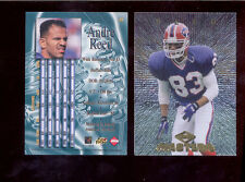 1997 CE Collectors Edge Masters ANDRE REED Buffalo Bills Card