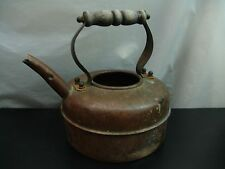 Old English Simplex Solid Copper Tea Kettle Stamped Made in England