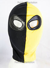 Spandex Deathstroke Mask Mexican wrestling fancy dress Halloween Adult Child's