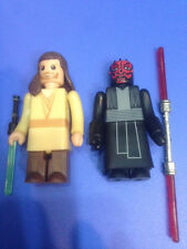 KAMIRU Star Wars Episode 1 Kubrick Style Set - Darth Maul & Obi-Wan NEW RARE