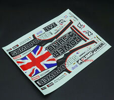 PC Body Skin Sticker Decal for 1:10 RC On Road Tour Cars HPI HSP Nissan GTR R35