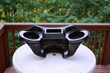 Harley Davidson Road King motorcycle fairing fiberglass batwing 6x9 speakers