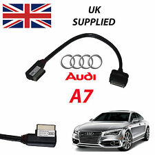 AUDI A7 2014 4F0051510R For Apple iPhone iPod AUDIO & VIDEO USB CABLE (Red)