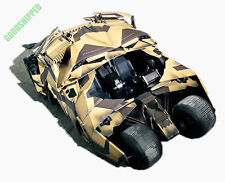 HOT TOYS TDKR BATMAN DARK KNIGHT BATMOBILE CAMOUFLAGE VERSION TUMBLER 1/6 READY