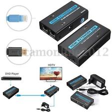 HDMI Over RJ45 CAT5e/6 Ethernet LAN Network Extender Splitter 1080P 3D Adapter