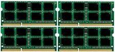 NEW 32GB (4x8GB) Memory PC3-12800 SODIMM For Dell Precision M6500 (Quad Core)