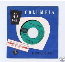 45 RPM SP JUKE BOX RICHARD ANTHONY C'EST MA FETE