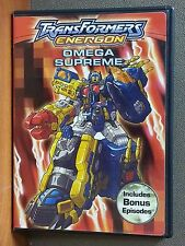 Transformers: Energon - Omega Supreme (DVD, 2005)   LIKE NEW