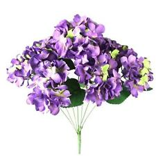 Artificial Hydrangea Silk Fake 7 Heads Flower Wedding Party Floral Decorations