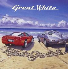 Great White Latest & Greatest CD NEW SEALED 2000 Metal Once Bitten, Twice Shy