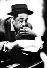 Duke Ellington Poster, Smoking at the Piano, Jazz