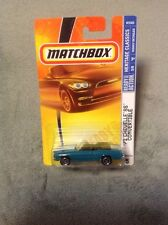 Matchbox '71 Chevy Chevelle SS Convertible Teal White Stripes Heritage Classics