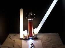 Large Tesla Coil With Stainless Steel Top Load,Transformer Plus Extras Included