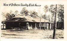 Arkansas AR Real Photo RPPC Postcard c1940s DEQUEEN Contry Club House