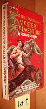 PB Edgar Rice Burroughs Richard A. Lupoff Master of Adventure Illustrated Ace N6