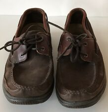 Rockport Mens Brown Leather Boat Oxford Shoes Size 10.5 M APM2254E