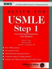 Review for Usmle: United States Medical Licensing Examination, Step 1 -ExLibrary