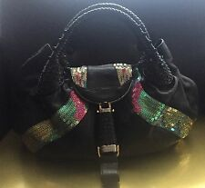 Limited Edition Fendi Sequin/Leather Spy Bag NWOT
