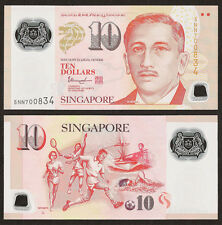 SINGAPORE 10 Dollars, Hollow House, 2014, P-48-New, POLYMER, UNC