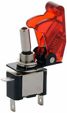 Red Toggle Switch with Aircraft Safety Cover for all Vehicles