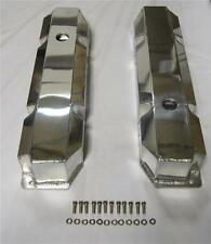 Big Block Mopar Chrysler Dodge FABRICATED Aluminum Valve Covers 383 440 Polished