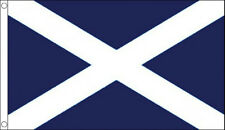 ST ANDREWS CROSS FLAG 5' x 3' Dark Blue Saltire Scotland Scottish Flags