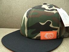 METAL MULISHA TAGGED TRUCKER SNAPBACK HAT CAP CAMO SAMPLE PIECE *NEW*