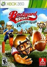 Backyard Sports: Rookie Rush (Microsoft Xbox 360, 2010) New Sealed USA