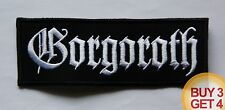 GORGOROTH PATCH,BUY3 GET4,CARPATHIAN FOREST,OV HELL,1349,SATYRICON,GEHENNA,ABSU