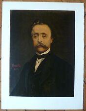 Monticelli Adolphe Lithographie sur velin d'Arches Mourlot Portrait Vollard Levy