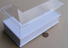1.12 échelle peint blanc shop display counter doll house miniature accessoire Hwr