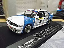 BMW M3 E30 DTM Bigazzi 24h Spa 1987 2nd Sala Grouillard Vogt limit. 1/1000 1:43