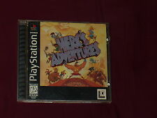 Herc's Adventures (Sony PlayStation 1, 1997) Tested & Works