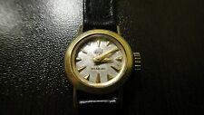 RARE VINTAGE GOLD PLATED WOMEN'S WATCH BRITIX 21 JEWELS