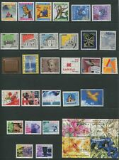 Switzerland 2001 Complete Year Set NH - Scott 1093-1111 B656-59 B660-63 CV $78