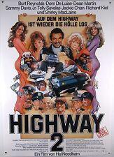 High Way 2 CANNONBALL RUN II Burt Reynolds - Filmplakat DIN A1 (gerollt)