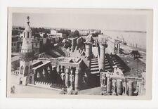 Luxor Temple Egypt Vintage RP Postcard 159a